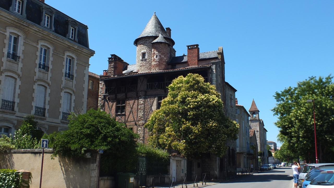 Maison de Roaldès à Cahors dans le Lot