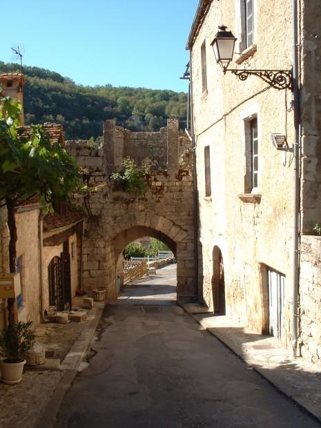 Rocamadour. Porte Basse - Vue intérieure 1 - Auteur : Yann LESELLIER