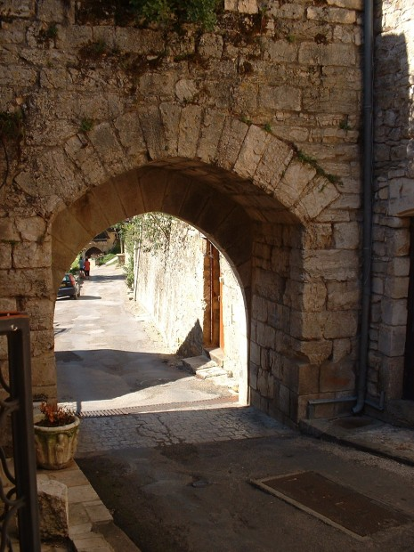 Rocamadour. Porte Basse - Vue Intérieure 2 - Auteur : Yann LESELLIER