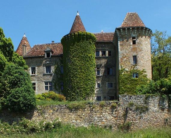 Château de Ceint d'Eau à Figeac