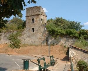 Vestige des remparts de Figeac