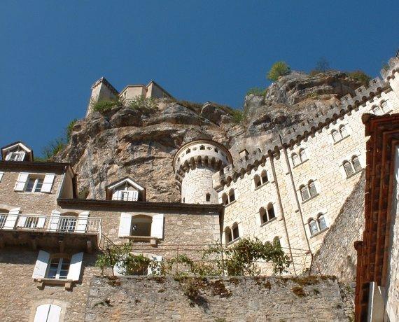 Les fortifications de Rocamadour