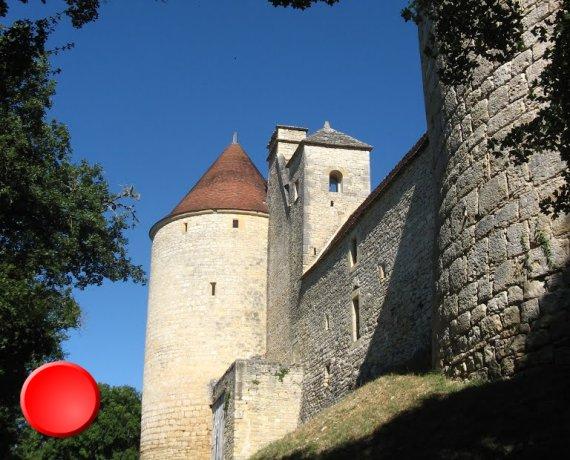 Château de Clermon à Concorès