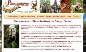 Les phosphatières du Cloup d'Aural