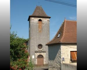 Église Saint-Étienne de Carayac dans le Lot