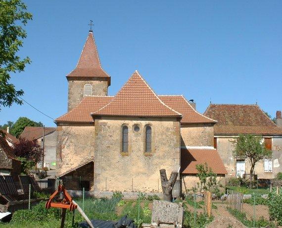 Église d'Espeyroux dans le Lot