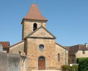 Église Saint-Maurice à Cambes dans le Lot