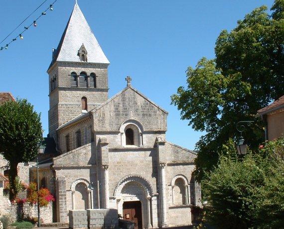 Église Saint-Martin à Caniac-du-Causse dans le Lot