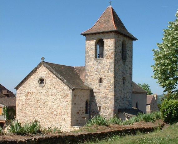Église Saint-Jean-Baptiste à Capdenac dans le Lot