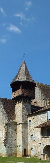 Église Saint-Augustin à Espagnac-Sainte-Eulalie dans le Lot