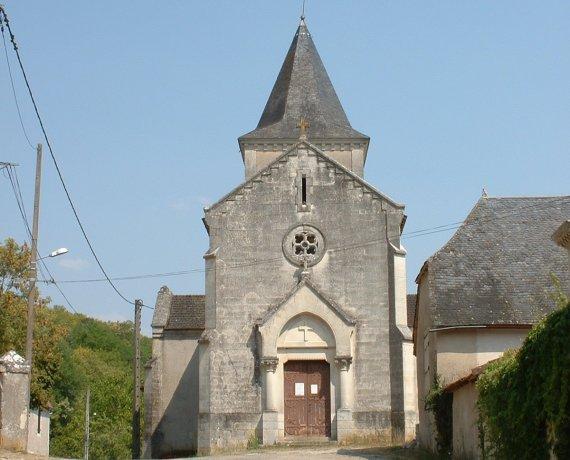 Église Saint-Denis à Saint-Denis-Catus