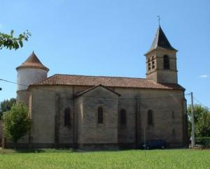 Église Saint-Michel à Saint-Michel-Loubejou (bourg)