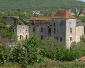Château de Cadrieu à Cadrieu dans le Lot