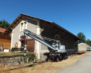 Musée du Rail à Cajarc dans le Lot