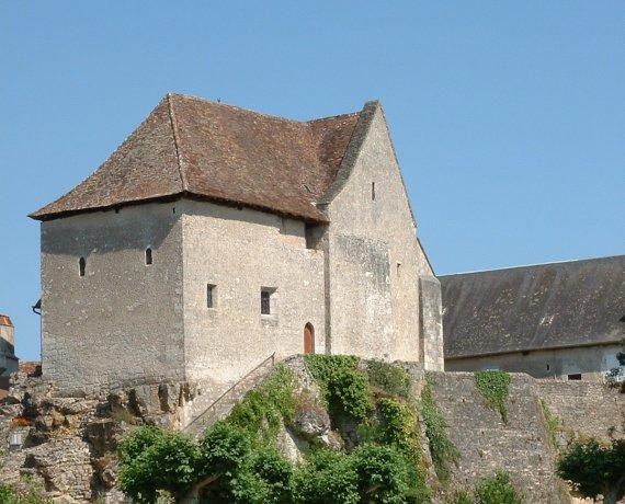 Église Saint-Germain à Creysse (bourg) dans le Lot