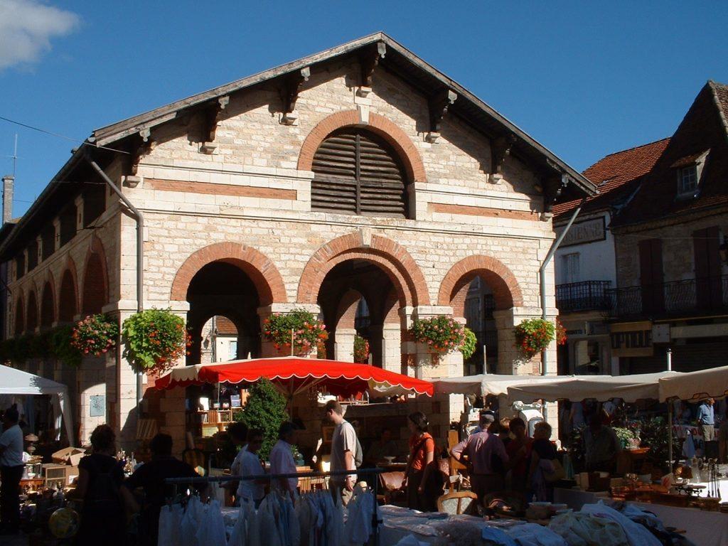 Halle de Gramat (Place de la Halle)