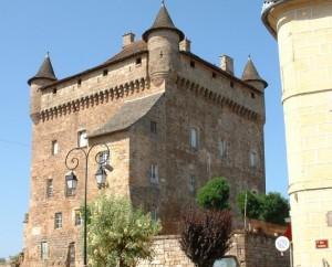 Château de Lacapelle-Marival (rue du Château) dans le Lot