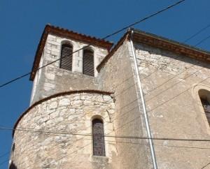 Église de Montbrun dans le Lot