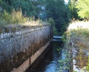 Écluse de Caillac à Montbrun dans le Lot