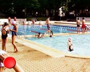 La piscine de Gourdon dans le Lo