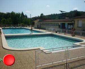 La piscine de Luzech dans le Lot