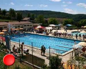 La piscine de Souillac dans le Lot