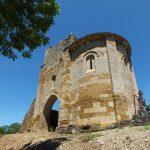 Camboulit. Les ruines de l'église Saint-Martin
