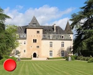 Château de la Treyne à Lacave dans le Lot