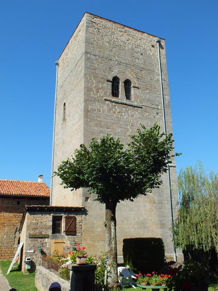 La tour de Sagnes à Cardaillac dans le Lot