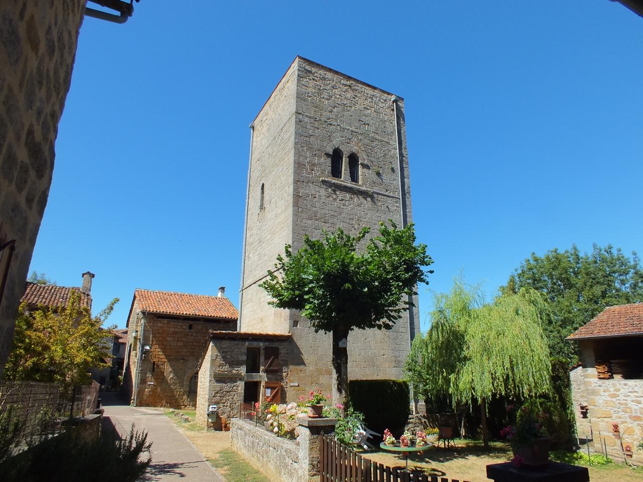 La tour de Sagnes à Cardaillac