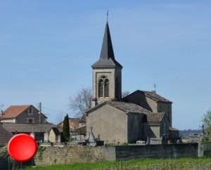 Église Saint-Martin à Albas dans le Lot (Cénac)