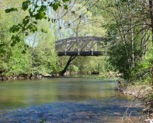 Pont sur le Célé à Béduer (Moulin de Béduer) dans le Lot