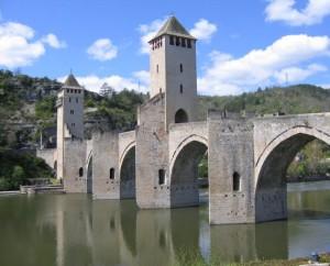 Pont Valentré à Cahors dans le Lot