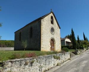 Chapelle Saint Jean-Gabriel Perboyre à Cazals (bourg) dans le Lot