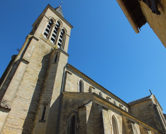 Église Saint-Vincent à Dégagnac (bourg) dans le Lot