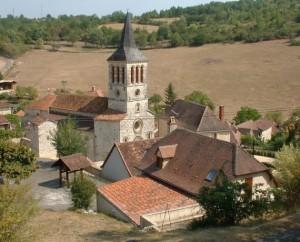 Église Saint-Grégoire à Boissières dans le Lot