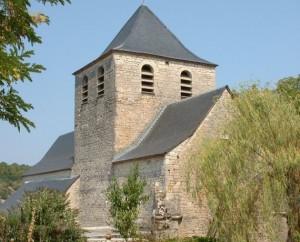 Église Saint-Pierre à Frayssinet dans le Lot