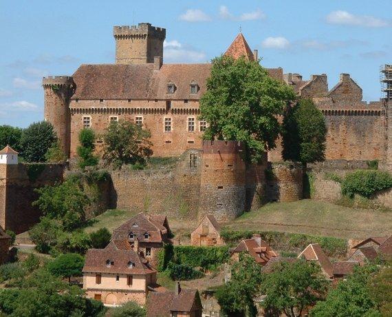 Le Château de Castelnau-Bretenoux à Prudhomat dans le Lot