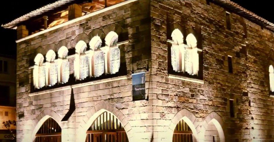 Hôtel de la monnaie à Figeac (place Vival) Hyperlapse