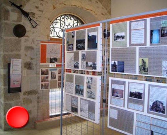 Musée de la résistance et la déportation à Figeac dans le Lot