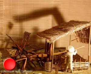 """Musée """"La planête des moulins"""" à Luzech dans le Lot"""
