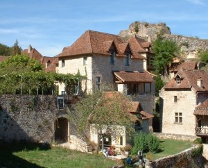 Musée du village de Saint-Cirq-Lapopie dans le Lot