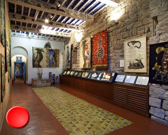 Musée Jean-Lurçat à Saint-Laurent -les-Tours dans le Lot