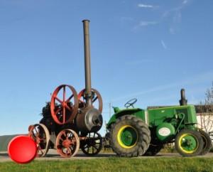 Musée agricole et de l'automobile à Salviac dans le Lot