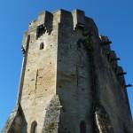Rudelle. L'église fortifiée Saint-Martial