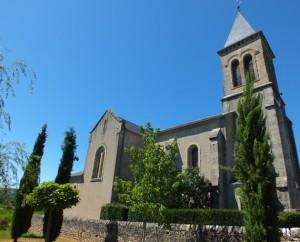 Église de Caillac à Cajarc