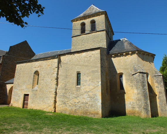 Église Saint-Hilaire à Masclat (bourg)