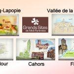 VIDEO. Carnets de voyage illustrés avec 5 Grands Sites lotois
