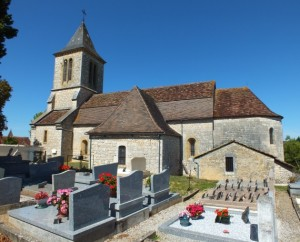 Église Saint-Jacques à Calès (bourg)