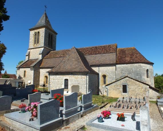 Église Saint-Jacques à Calès (bourg)
